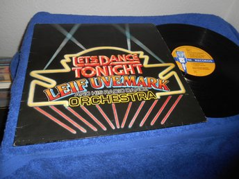 Leif Uvemark - Let's Dance Tonight (LP) 1980 trumpet VG+/VG+
