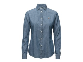Slim Fit Chambray Shirt - Ralph Lauren
