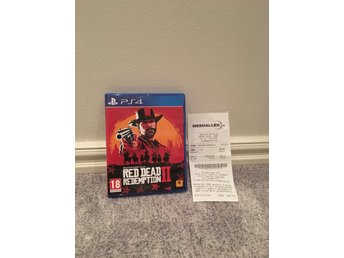 Red dead redemption 2 ps4 (nyskick)