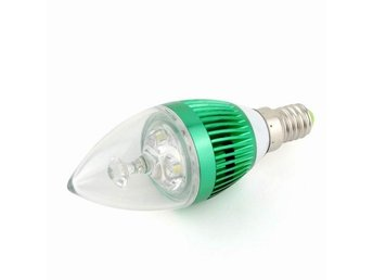 E27 3W Screw Base Candle LED Lampor Lighting Bulb