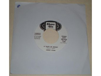 Jamey Ryan 45a A taste of money US 1972 VG++ Promo