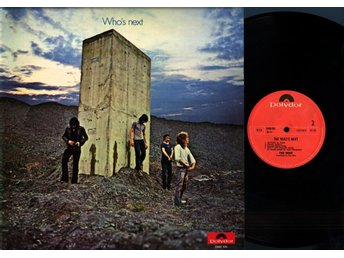 THE WHO - THE WHO'S NEXT - POLYDOR 2408.102 DELUXE