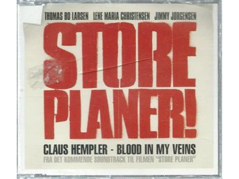 CLAUS HEMPLER - BLOOD IN MY VEINS  (CD MAXI/SINGLE )
