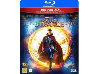 Doctor strange bluray 3 D inplastad