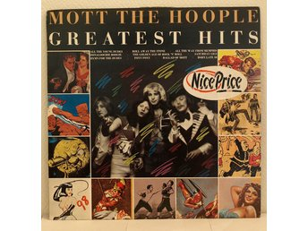 LP. MOTT THE HOOPLE - GREATEST HITS. UK.