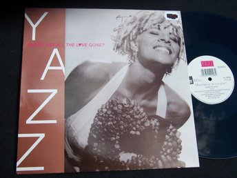 "YAZZ - WHERE HAS ALL THE LOVE GONE? 12"" 1989 ""LOOKS NEW"""