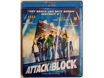 Dvd Blu-ray / Attack the block