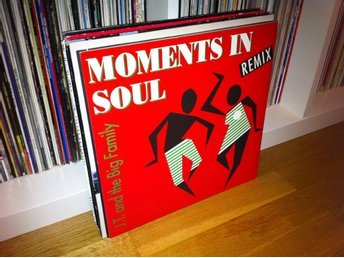 "[2x12""] J.T. & The Big Family - Foreign Affair 90 Moments in Soul (Remix) 90"