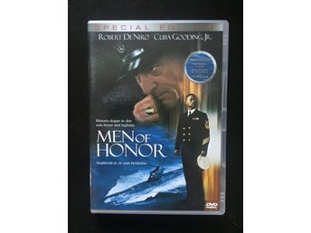 Men of Honor - Robert DeNiro Cuba Gooding Jr - DVD Mycket Bra Skick!