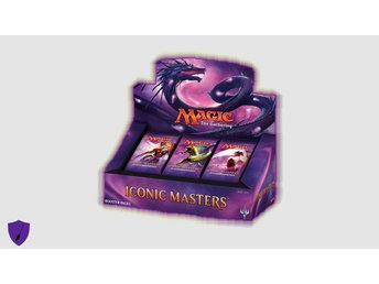 Magic Iconic Masters Booster Display