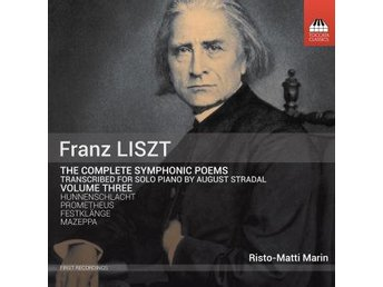 Liszt: Symphonic Poems (Transcr. Stradal) (CD) - Nossebro - BESKRIVNING:Although Liszt's thirteen symphonic poems exist in two-piano transcriptions prepared by the composer himself, it was his Czech student August Stradal (1860-1930) who was to transcribe them for solo piano - versions which demand almo - Nossebro