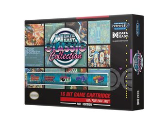 Data East Classic Collection SNES Ret...