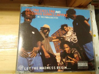 Heltah Skeltah And Originoo Gunn Clappaz As The The Fabulous Five - Blah, CD