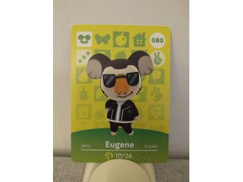 Animal Crossing Amiibo Welcome Amiibo card nr 080 Eugene