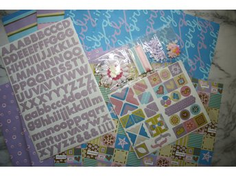 SCRAPBOOK KIT ~ GIRLY