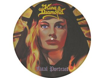 King Diamond -Fatal portrait PIC-DISC Metal Blade ltd 2000 c