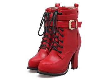 Dam Boots Fashion Super Warm Autumn Winter Shoes Red 36