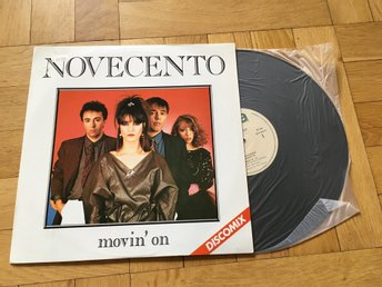"NOVECENTO - MOVIN´ON  Discomix  klassisk Italodisco 12"" Mint WEA 1984 mint!"