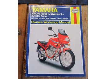 YAMAHA XJ 600S, XJ600N OWNERS WORKSHOP MANUAL
