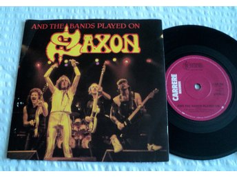 Saxon / And the bands played on / CAR 180