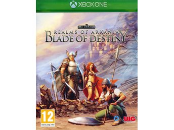 Realms of Arkania Blade of Destiny - Xbox One spel