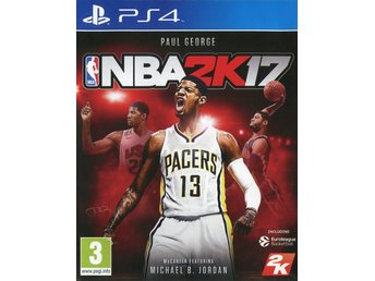 "PS4-spel ""NBA 2K17"""
