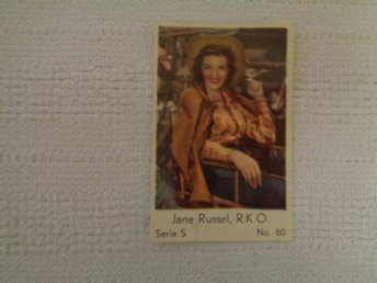 Nr 60 Jane Russell- Serie S 1957- Stor  text