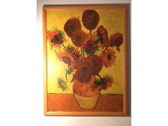 Sunflowers (Framed Laminated Print)