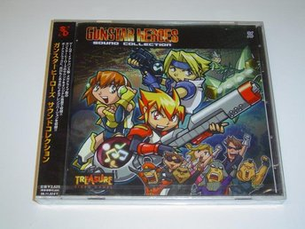 Gunstar Heroes Sound Collection Original Soundtrack Musik *NYTT*