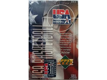 1994 Upper Deck USA Basketball Box