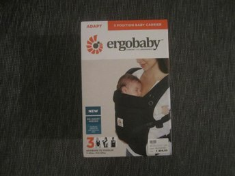 ergobaby 3 position baby carrier adabt -black
