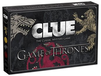 Cluedo Game of Thrones - Brädspel