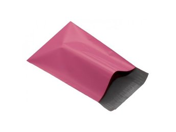 100 Rosa Mailing Bags 250 x 350mm- mailingbags