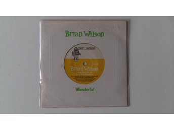 "Brian Wilson - Wonderful; limited edition 7"" (Beach Boys)"