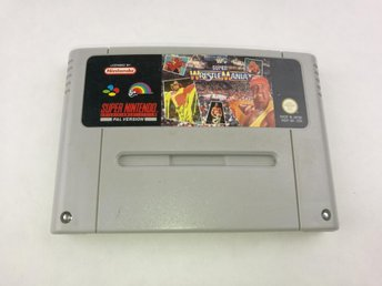 Super Wrestle Mania - Super nintendo - SNES - PAL