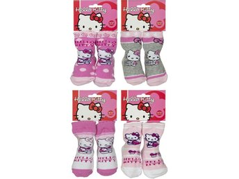 Hello Kitty Strumpor Baby 4-pack 6-12m