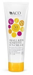 Solskyddscreme Sol kräm ACO Small Kids Sensitive Sun Cream Spf 50