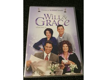 Will and Grace - Säsong 3 - Ca 8 timmar  - Sv. Text