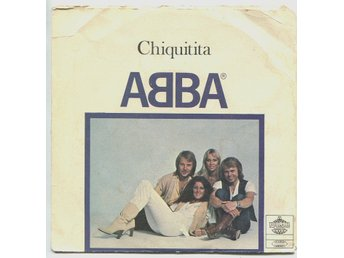 "ABBA: Chiquitita 7"" split with BeeGees Polar/RSO Sweden 1979"