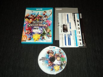 Nintendo Wii U Super Smash Bros 4
