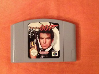 James Bond Goldeneye 007  Nintendo 64