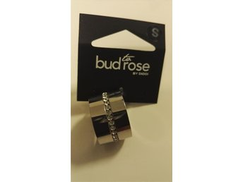Bud to Rose ring S silver.Ny!