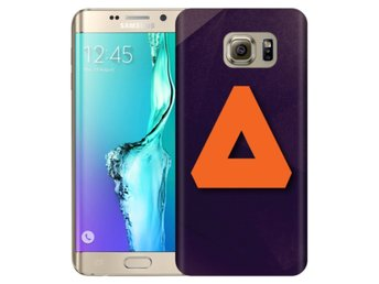 Samsung Galaxy S6 Edge+ Skal Orange Triangel