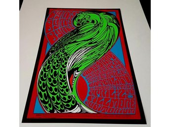 THE BYRDS FILLMORE SAN FRANSISCO 1967 PHOTO POSTER