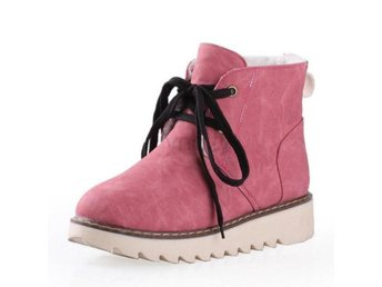 Dam Boots Shoes Women Snow Botas Woman Footwear Pink 36