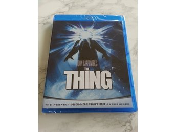 THE THING (1982) Svensk BLU-RAY - John Carpenter, Kurt Russell (KULT) *NY*