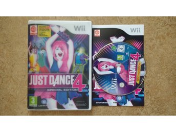 Nintendo Wii: Just Dance 4 Special Edition