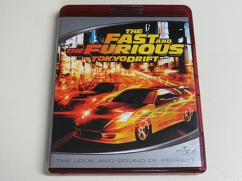 THE FAST AND THE FURIOUS: TOKYO DRIFT (HD DVD)