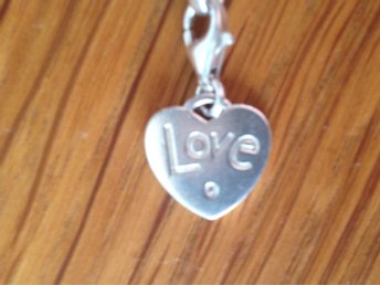 "•••***THOMAS SABO ""LOVE HEART"" SILVER BERLOCK****••••"