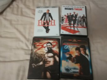 dvd-filmer. dvdfilmer. 300, oceans twelve, 007 bond, hitch